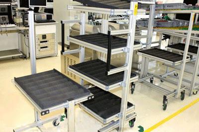 物流设备制造行业 服务的客户有 安吉物流 德玛泰克 等